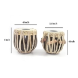 Authentic Holz Tabla Set