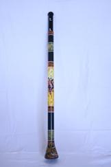 Slide Didgeridoo mit Tierbemalung